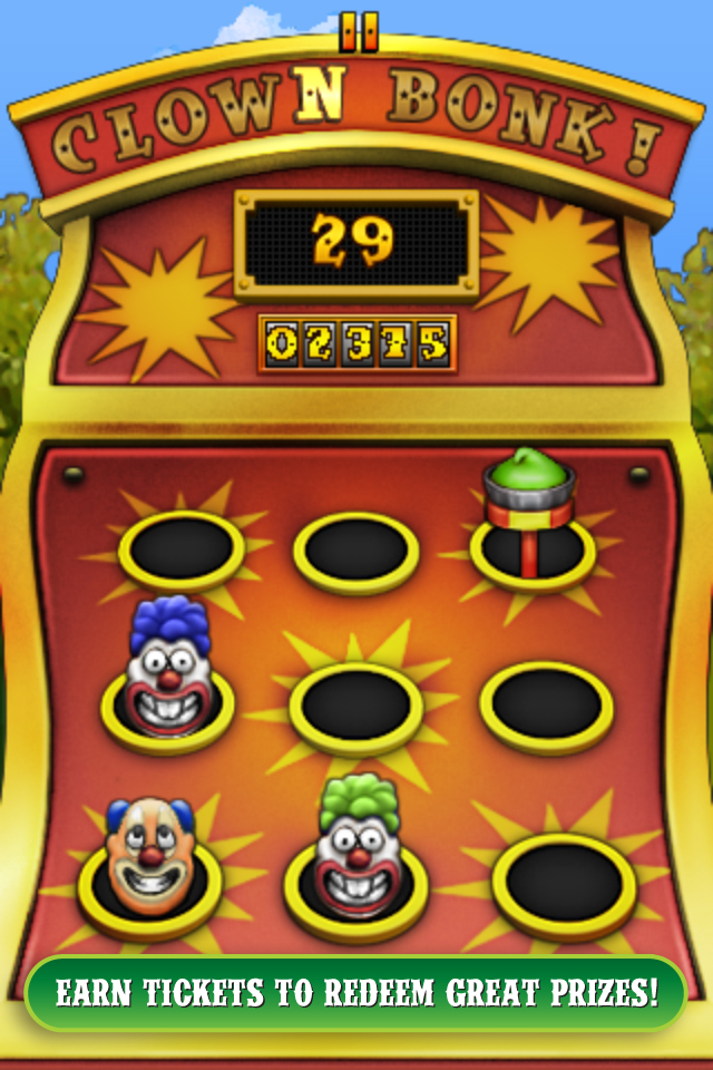 Screenshot Carnival Games for iPhone Review